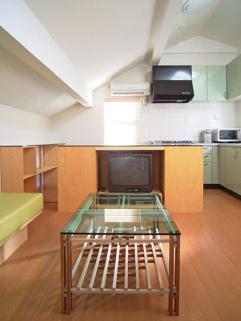 Kさんの家のリビング家具